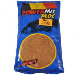 Прикормка Mondial-F Powermix Bream Caramel 1 кг (Лещ карамель)